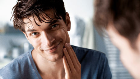 younger looking skin for men